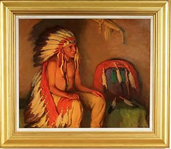 Buying Native American Paintings